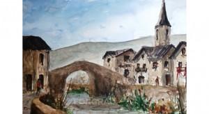 Esterri d'Àneu22x33 cm.